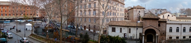 Arrived in Rome! This is the view from my bedroom window.