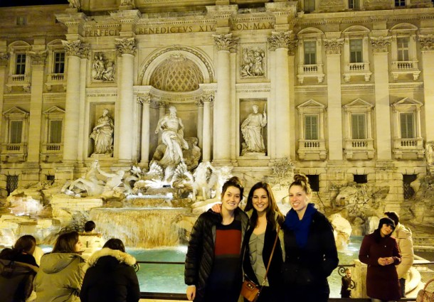 The Trevi Fountain may be one of my favorite sites thus far.