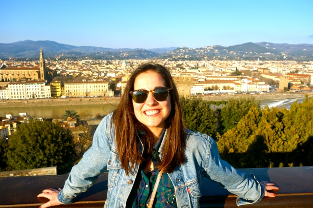 Climbed the Piazzale Michelangelo in Florence for a beautiful view.