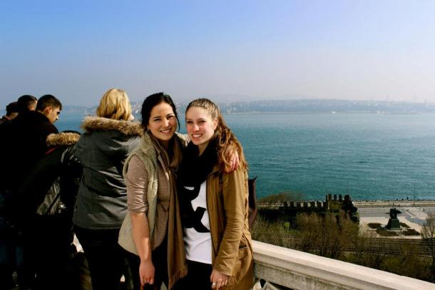Beautiful view from Topkapi Palace.